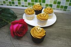 Vanilkove cupcakes 1