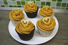 Vanilkove cupcakes 2