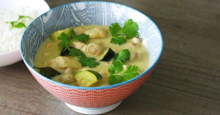 Thajské zelené curry
