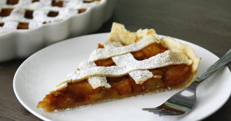 "Apple pie<span class=""badge-status"" style=""background:#5add08"">Vegan</span>"